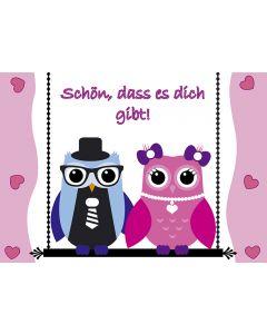 "Postkarte ""Schön"