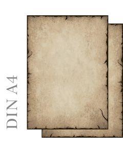 Motivpapier antik beidseitig bedruckt