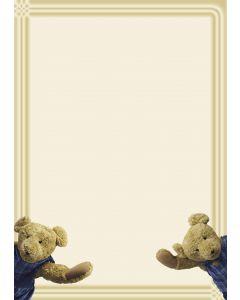 Briefpapier Teddybären