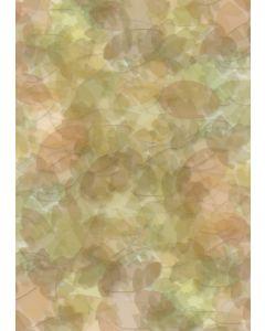 Briefpapier Herbst Blätter Collage