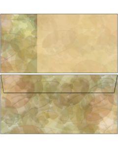 Briefumschläge Blätter Collage