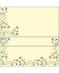 Briefumschläge Blütenzauber Vintage