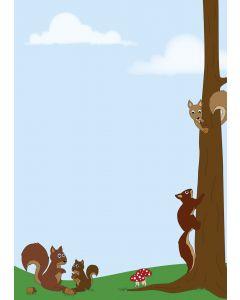Briefpapier nette Eichhörnchen