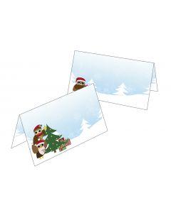 Tischkarten Weihnachtswichtel