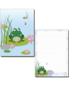 Schreibblock netter Frosch A5