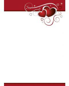 Briefpapier Symphonie der Herzen
