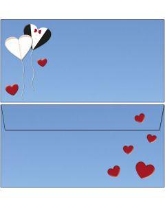 Briefumschläge Love is in the air