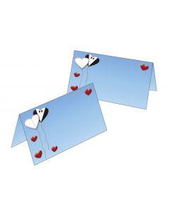 """Tischkarten """"Love is in the air"""""""