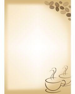 Briefpapier Kaffee
