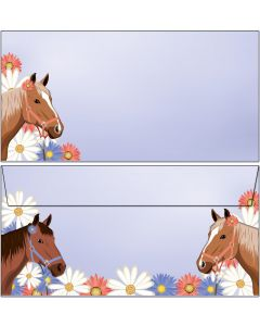 Briefumschläge Pferde