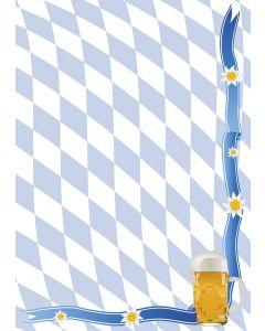 Briefpapier Bayern Raute + Bierkrug