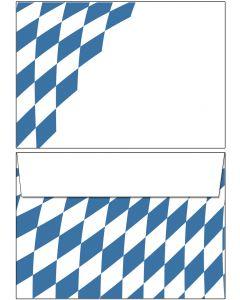 Briefumschläge Bayern Raute DIN C6