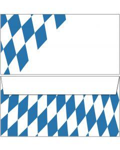 Briefumschläge  Bayern Raute DIN lang ohne Fenster