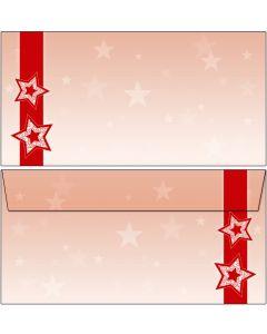 Weihnachten rote Sterne