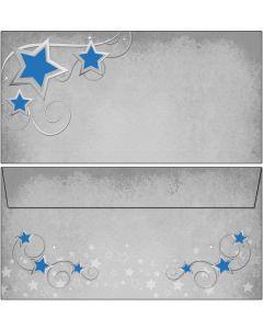 Briefumschläge Symphonie der blauen Sterne