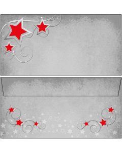 Briefumschläge Symphonie der roten Sterne