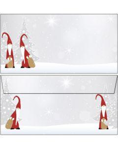 Briefumschläge Weihnachtswichtel