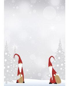 Briefpapier Weihnachtswichtel