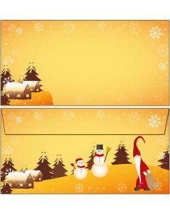 Wichtel und Schneemänner