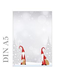 Briefpapier Weihnachtswichtel  A5