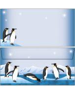 Briefumschläge nette Pinguine