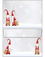 Briefumschläge C6 - Weihnachten Wichtel